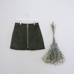 Dresses & Skirts - 70s Suede Skirt